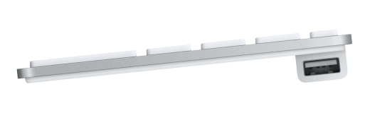 Apple Keyboard Side View